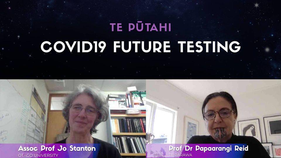 Prof. Papaarangi Reid & Assoc. Prof Jo Stanton