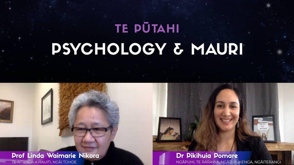 Prof Linda Waimarie Nikora & Dr Pikihuia Pomare: Stress & Mauri