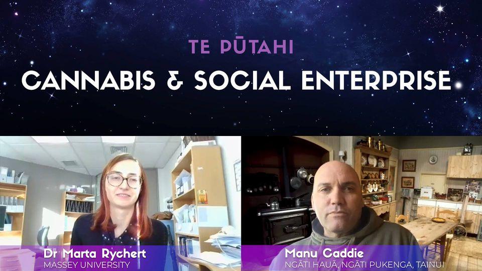 Dr Marta Rychert & Manu Caddie on Social Enterprise