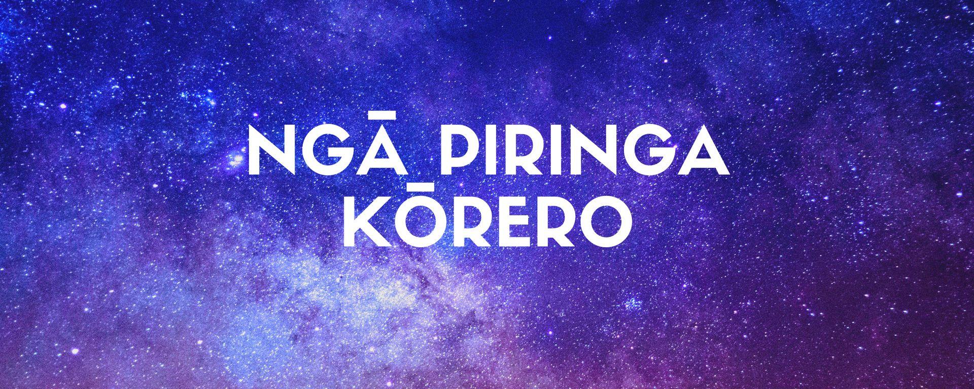 Ngā Piringa Kōrero