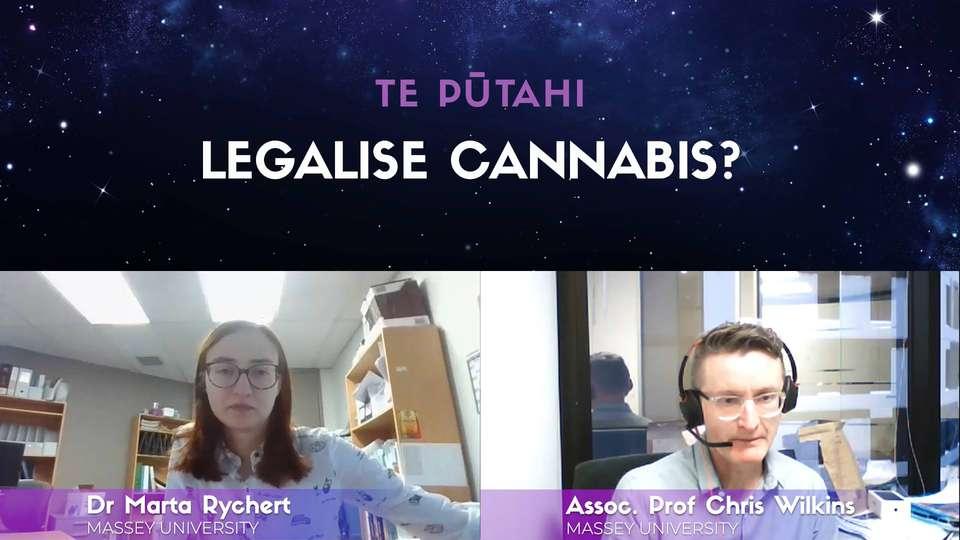 Assoc Prof Chris Wilkins & Dr Marta Rychert: Legalise Marijuana?