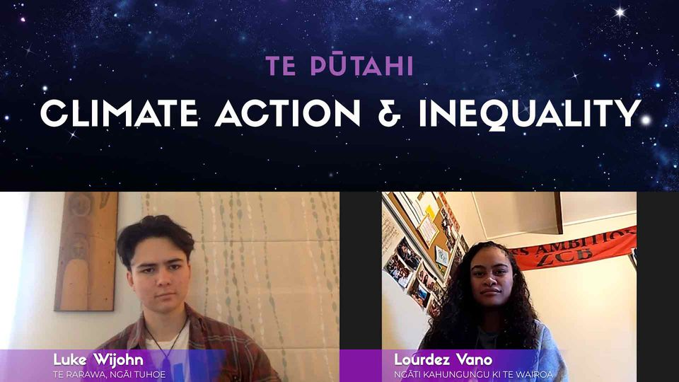 Luke Wijohn & Lourdes Vano: Climate Change Activists